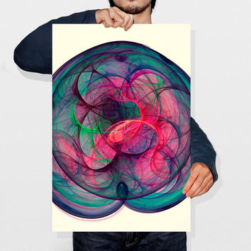 Printable Art (Instant Download) Abstract Artwork Nebula Galaxy Print Nebula Space Art Cosmos Playroom Wall Art