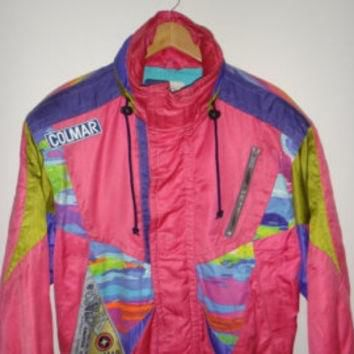 X MAS 30% Sale ADIDAS Vintage Windbreaker Jacket Made in New Zealand 80s Warm Up
