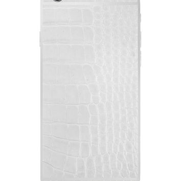 Hadoro IPhone 6S Asignature Alligator White