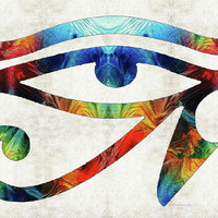 Eye Of Horus - By Sharon Cummings