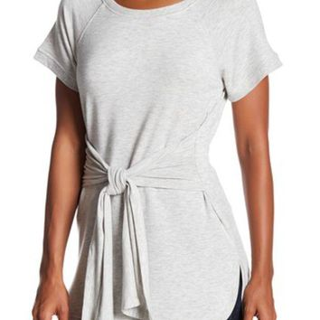 Cable & Gauge | Short Sleeve Tie Front Tunic | Nordstrom Rack