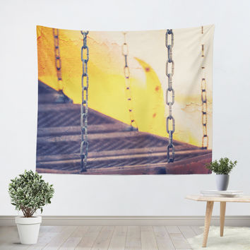 Urban Playground Bridge Tapestry