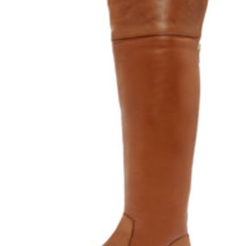 Luichiny Peg Gee Cognac Leather Over the Knee Riding Boots
