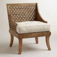 Tribal Carved Chair - World Market