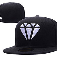 RHXING Fifth Harmony Diamond Logo Adjustable Snapback Embroidery Hats Caps