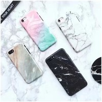 Cute Stylish Iphone 6/6s On Sale Hot Deal Apple Innovative Matte Soft Couple Phone Case [11758955727]