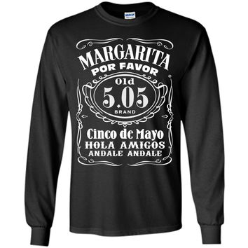 Vintage Margarita Por Favor Cinco De Mayo T-Shirt 5 May Tee