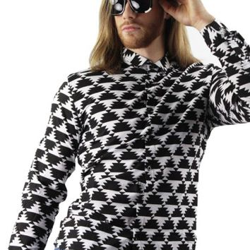 Geometric Pattern Shirt