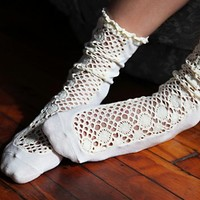 Womens Daisy Lane Ankle Sock