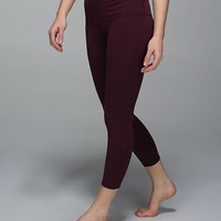 wunder under crop ii (roll down) *cotton | women's crops | lululemon athletica