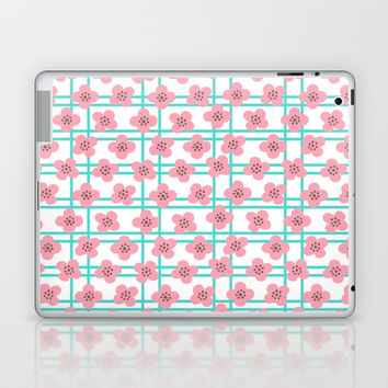 Lucky Blossoms Laptop & iPad Skin by Negin Khatoun