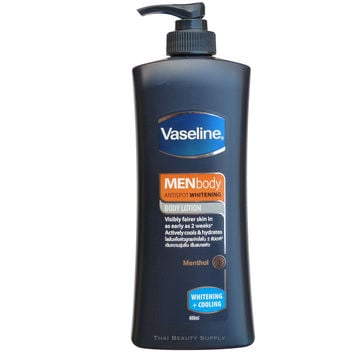 Vaseline Men Antispot Whitening and Cooling Menthol Body Lotion 400ml