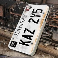 License plate iPhone 4/4S/5/5S/5C/6/6+ Samsung S3/S4/S5 iPod 4/5 Case