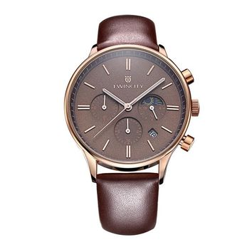 Leather Luxury Watches Men Watches for Men Chronograph Watch Men Watches