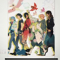 DRAMAtical Murder DMMD NOIZ Seragaki Aoba Virus Home Decor Poster Wall Scroll Anime Janpanese New 23.6x34.5 Inches -P137030001