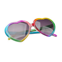 Rainbow Heart Sunglasses