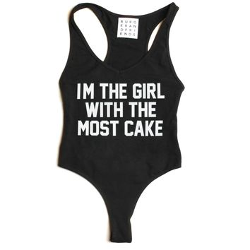 THE MOST CAKE BODYSUIT