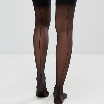 Jonathan Aston Backseam and Heel Stockings at asos.com