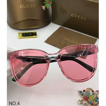 GUCCI new large frame polarized sunglasses fashion colorful marine film F-A-SDYJ NO.4