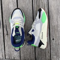 "Puma RS-0/X ""Grey&Green"" Men Women Running Shoes"