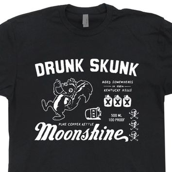 Moonshine T Shirt Alcohol Shirt Kentucky Moonshine Tee Shirt Vintage Moonshine Shirt