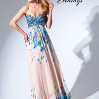 Tony Bowls Chiffon Prom Dress TBE11540