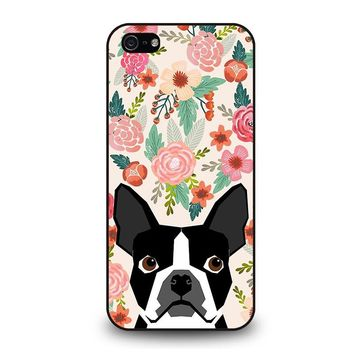 BOSTON TERRIER DOG BREED iPhone 5 / 5S / SE Case Cover