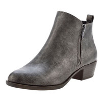 Boleroo Pewter Bootie By Madden Girl