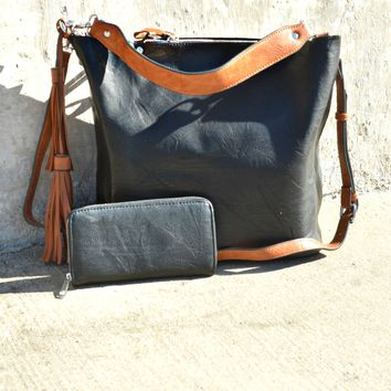 Let's Get Away Handbag - Black