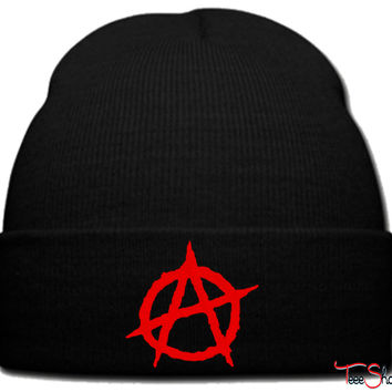 Anarchy beanie knit hat