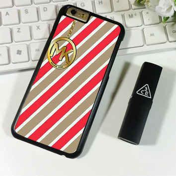 MK MICHAEL KORS RED LINE iPhone 6 Plus | 6S Plus Case Planetscase.com