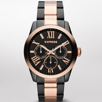 MULTI-FUNCTION WATCH - ROSE AND HEMATITE