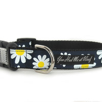 Daisy Dog Collar for Big Dogs