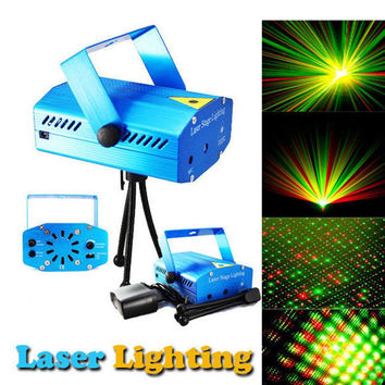 1pcs New Arrival Blue Mini Lazer Pointer Projector light DJ Disco Laser Stage Lighting for Xmas Party Show Club Bar Pub Wedding