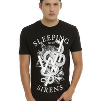 Sleeping With Sirens Snake Logo T-Shirt