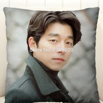 Gong Yoo Boyfriend Square Pillow 40cm*40cm korea drama Guardian The Lonely and Great God custom soft pillows