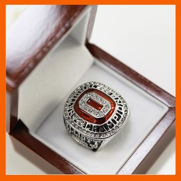 2014 - 2015 OHIO STATE BUCKEYES  NATIONAL CHAMPIONSHIP FAN RING REPLICA US SIZE 11