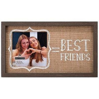 Malden 4X6 Best Friends Burlap