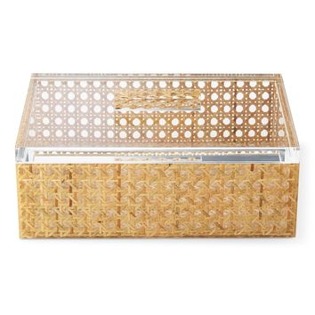 Rattan In Acrylic Box