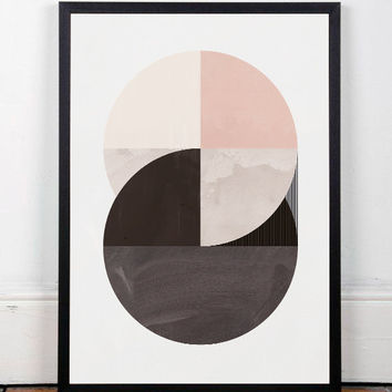 Best mid century modern art prints of homes products on wanelo for Modern minimalist wall art
