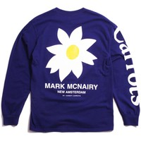 Daisy Longsleeve T-Shirt Purple