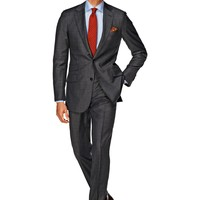 Suit Grey Plain Sienna P3460i | Suitsupply Online Store