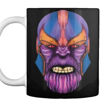 Thanos Face Infinity War Tees
