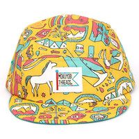 Adventure Party Print 5 Panel Walter Hat