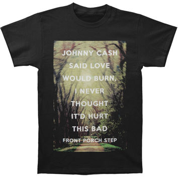 Front Porch Step Men's  Cash T-shirt Black Rockabilia