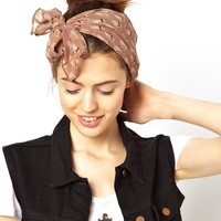 ASOS Cat Print Headscarf