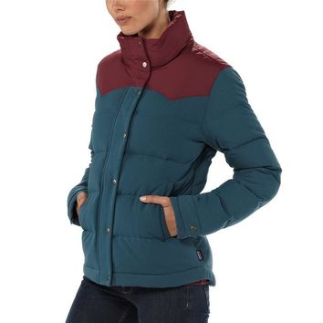 Patagonia Women's Bivy Down Jacket | Crater Blue
