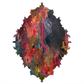 Stephanie Corfee Bursting Heart Baroque Clock