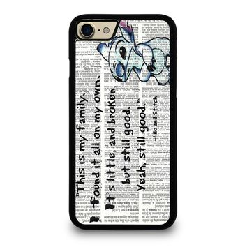 LILO AND STITCH QUOTES Disney iPhone 7 Case