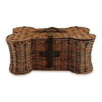Bone Shaped Pet Toy Storage Basket